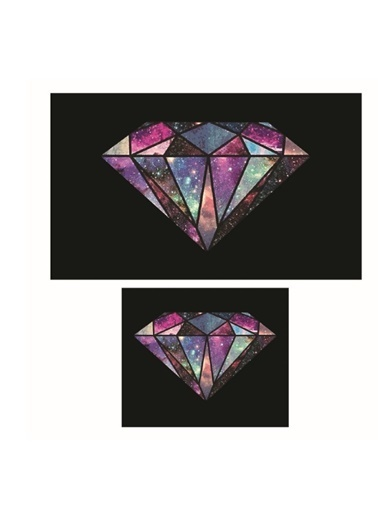 Soley Diamond Djt. 2 Li Banyo Paspas Seti Klozet Takımı Renkli